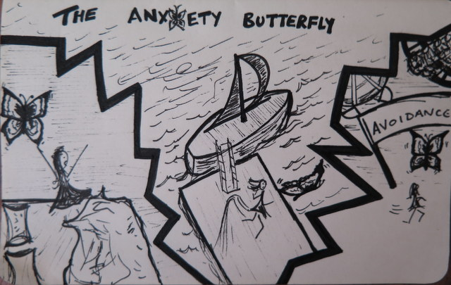 The Anxiety Butterfly
