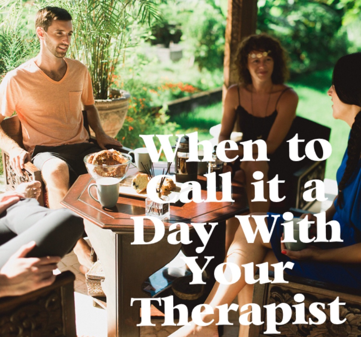 When To Call It A Day With Your Therapist on massage therapy sketches